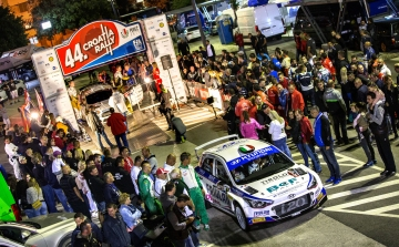 Demanding special stages of the WRC in Croatia are a real challenge for the best rally drivers